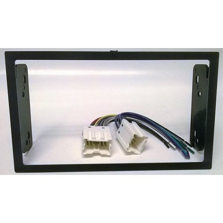 dash kit and wire harness for installing a new double din. Black Bedroom Furniture Sets. Home Design Ideas