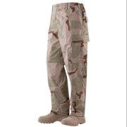 BDU Trousers Desert 3-Color 50/50 Nylon, Cotton Rip-Stop, XSmall Short