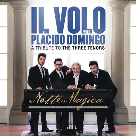 Il Volo With Placido Domingo   A Tribute To The Three Tenors Notte Magica  Live   Cd