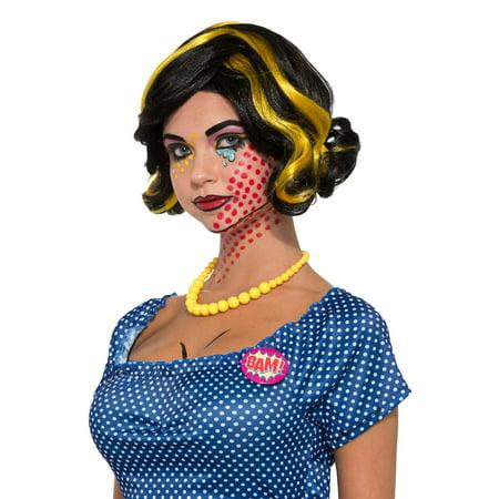 Bam Bam Halloween Costume Baby (Pop Art Betty Bam Wig)