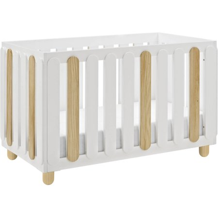 Storkcraft Sienna 3 in 1 Convertible Crib White/Natural