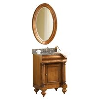 "Guild Hall 24"" Vanity in Distressed Pecan Sherwin Williams Finish, Vanity Only, Kaco Model# 725-2400-P"