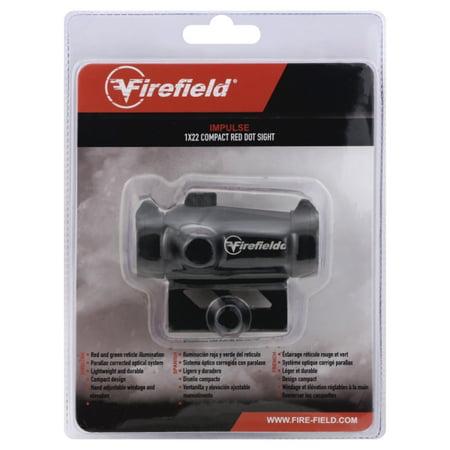 FIREFIELD IMPULSE 1X30 RED DOT W/ SKEL MNT
