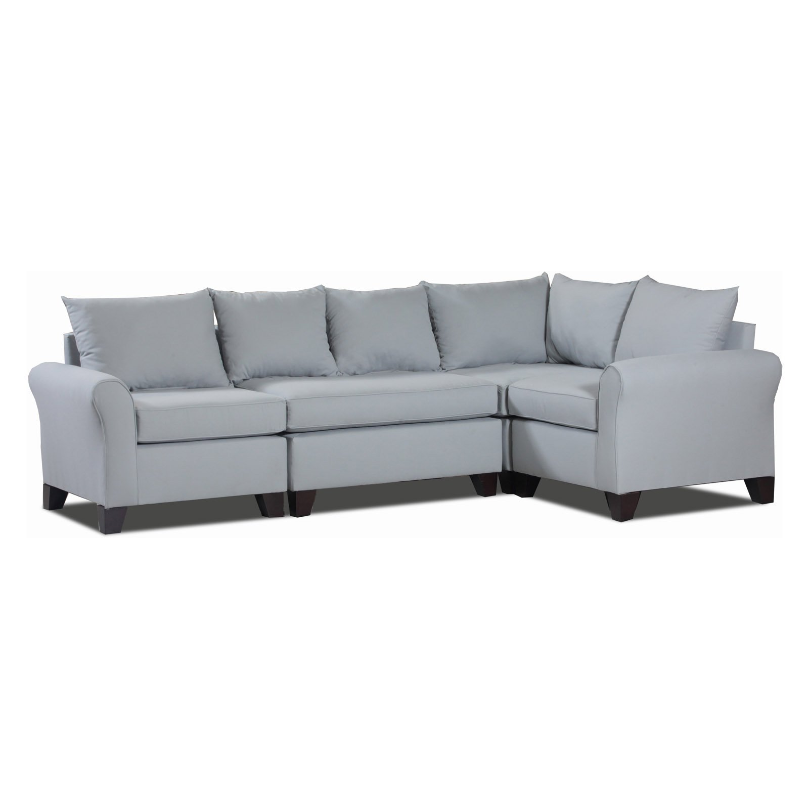 Carolina Accents Belle Meade 4 Piece Sectional by
