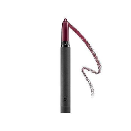 bite beauty matte creme lip crayon aubergine travel (Bite Beauty Matte Creme Lip Crayon Peche)