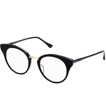 Authentic Dita Eyeglasses Reckless DRX 3037A Black Gold Frames 49M RX-ABLE