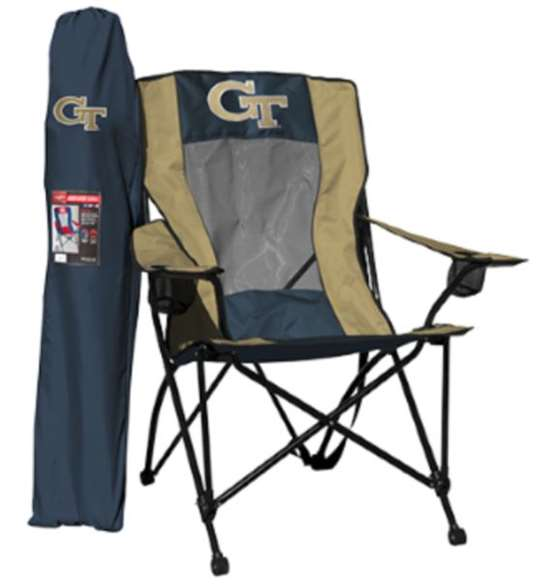 Georgia Tech Yellow Jackets High Back Folding Chair