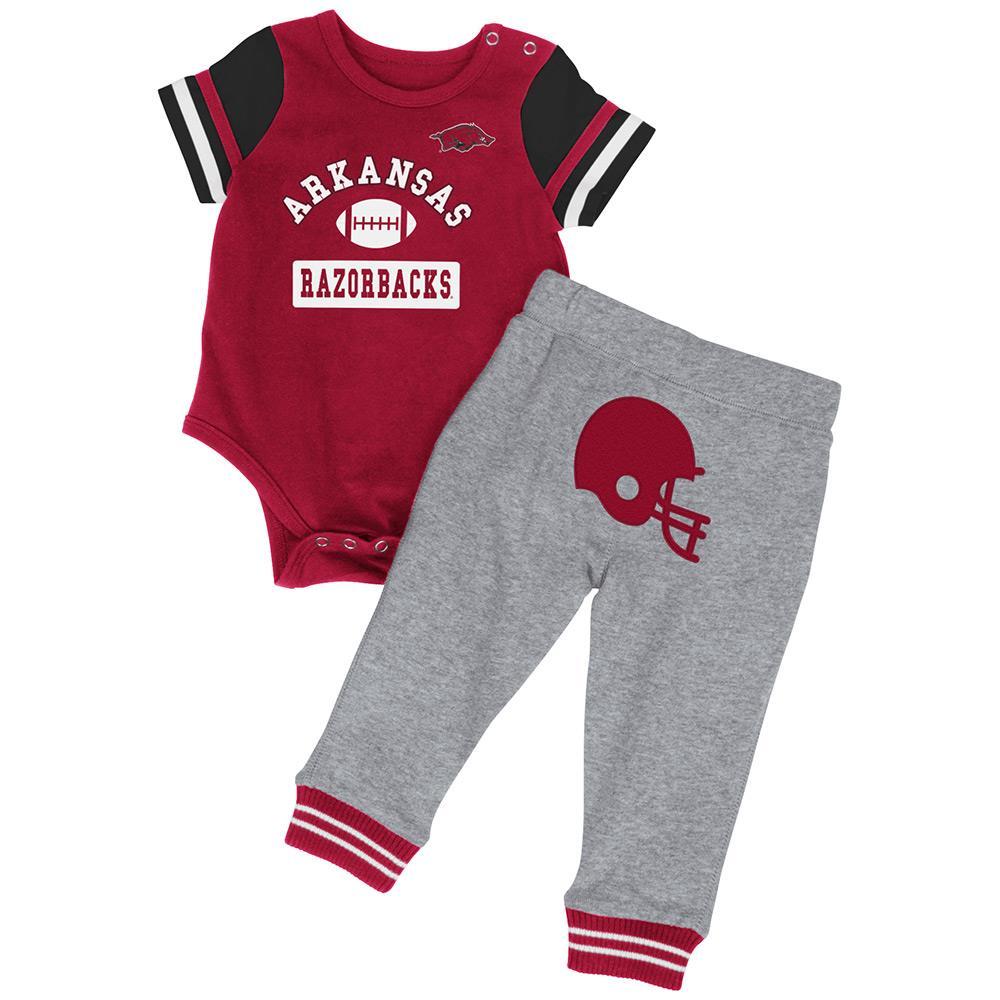 Infant NCAA Arkansas Razorbacks Onesie and Pants Set (Team Color) by Colosseum