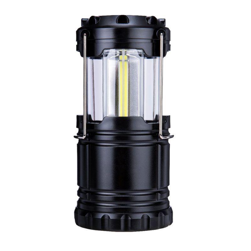 LED Camping Lantern Lights Collapsible Waterproof Lamps Battery Fishing Hiking