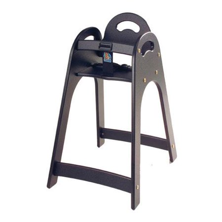 Koala - KB105-02 - Black Designer High Chair - Koala High Chairs