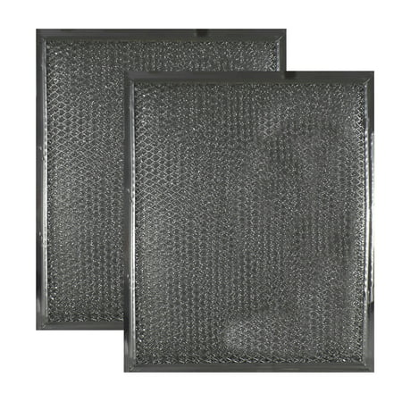 2 PACK 97006931 BP29 Broan Aluminum Mesh Grease Filter Replacements by Air Fi...