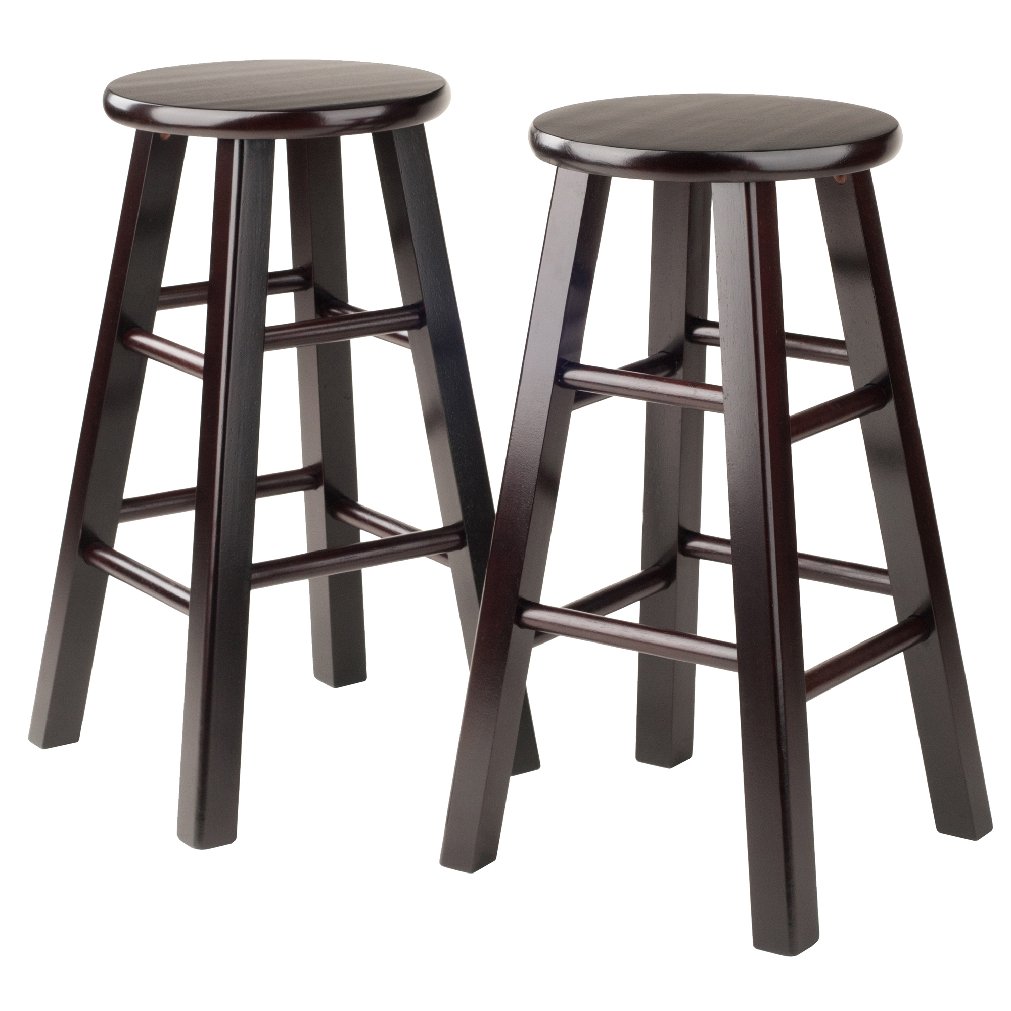 Winsome Wood Pacey 24 Counter Stools Set Of 2 Multiple Colors