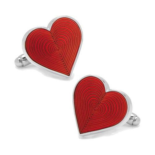 Men's Cufflinks Inc Heart Cufflinks