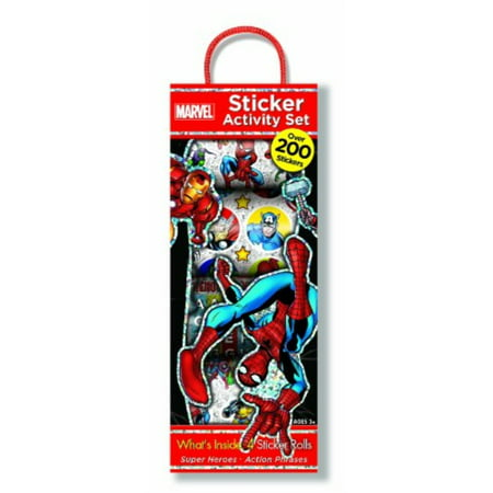 Bendon Marvel Sticker Box - Walmart com