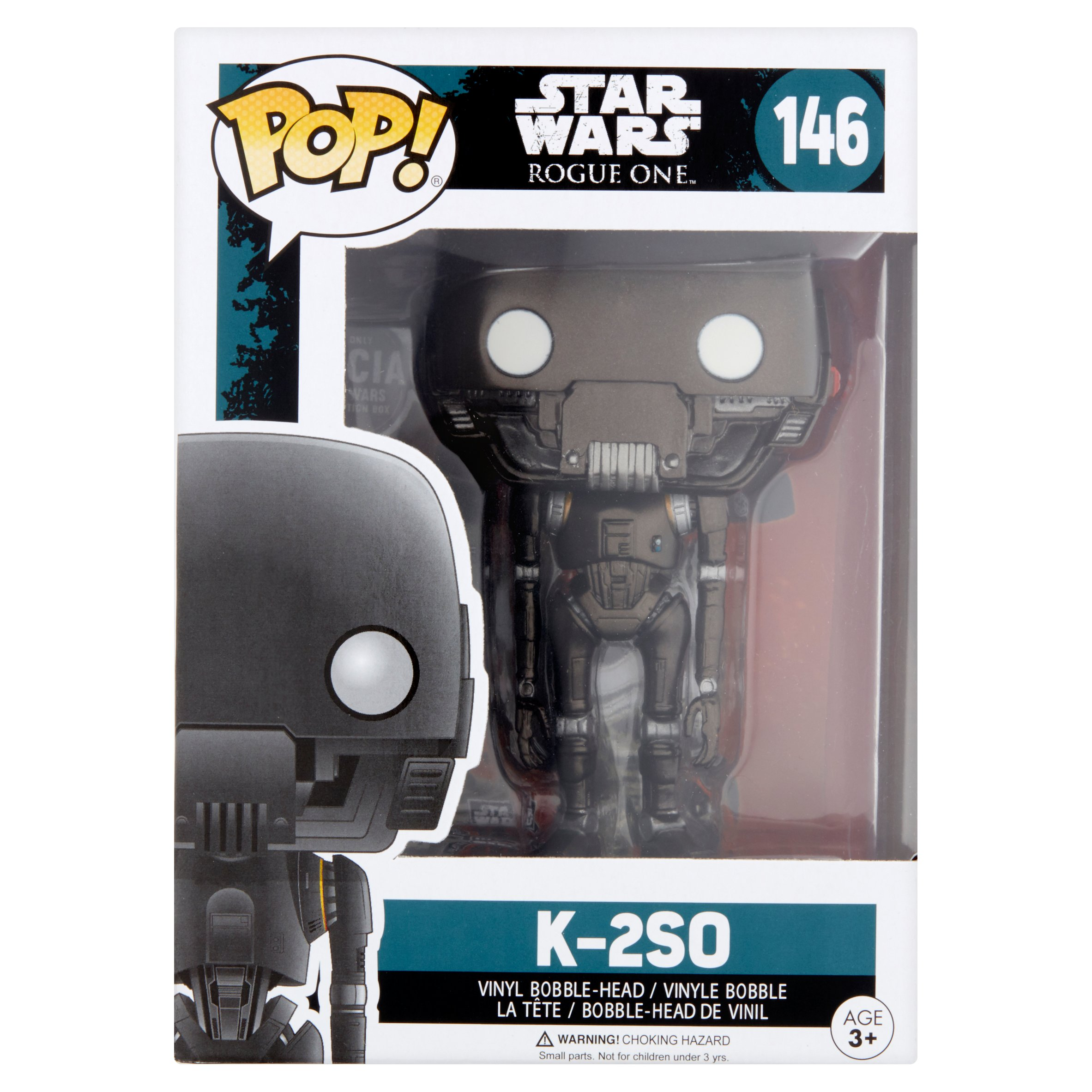 Pop! Star Wars Rogue One K-2S0 146 Vinyl Bobble-Head Age 3+