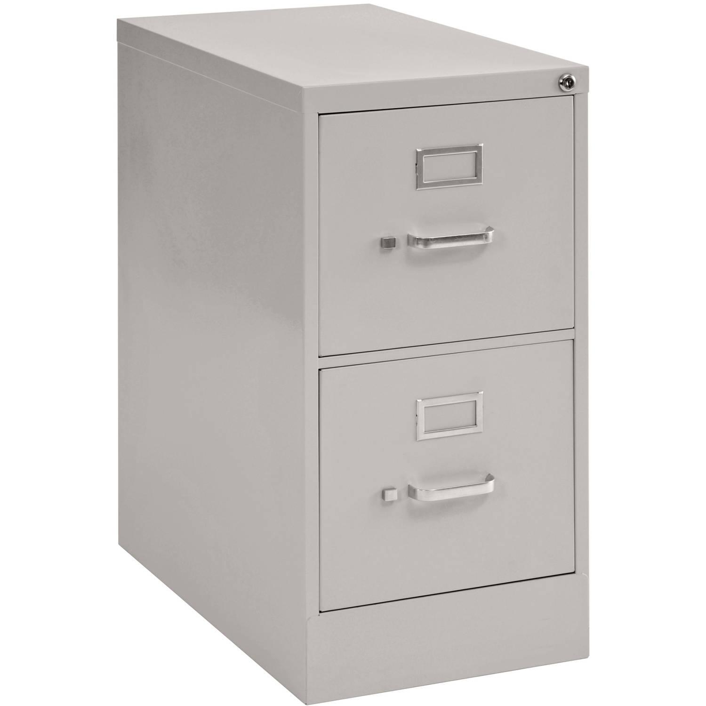 2 drawer 25 quot depth letter size steel vertical file
