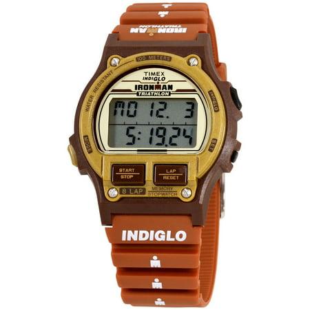 Timex Ironman Triathlon 8 Quartz Movement Digital Dial Men's Watch T5K842 (Sonnenbrille Triathlon)