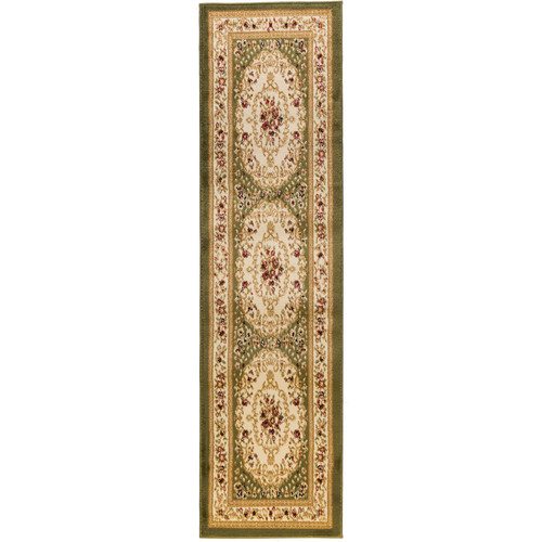 Well Woven Dulcet Versaille Green/Beige Floral Area Rug