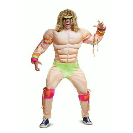 Ultimate Warrior Muscle Adult - Halloween Ultimate