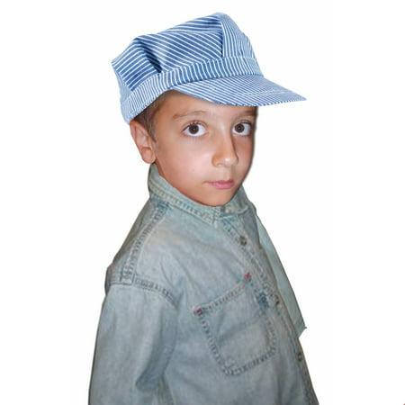 Child Deluxe Engineer Hat - Kids Train Engineer Hat