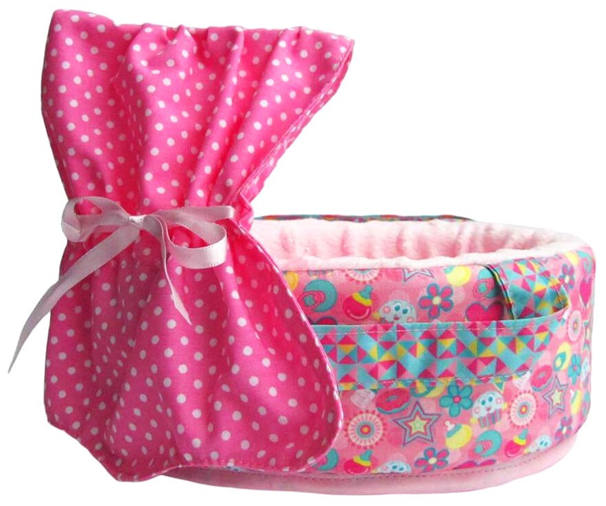 Click here to buy Neonate Babies Zygotie Small Pink Bassinet [SS18] by Distroller USA.