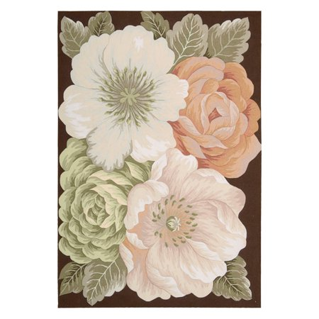 Fantasy Collection Traditional Floral Area Rug