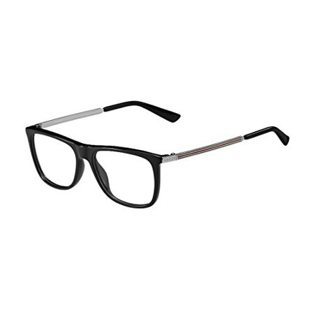 Optical frame Gucci Optyl Black - Silver (GG 1137 CVS) - Walmart.com