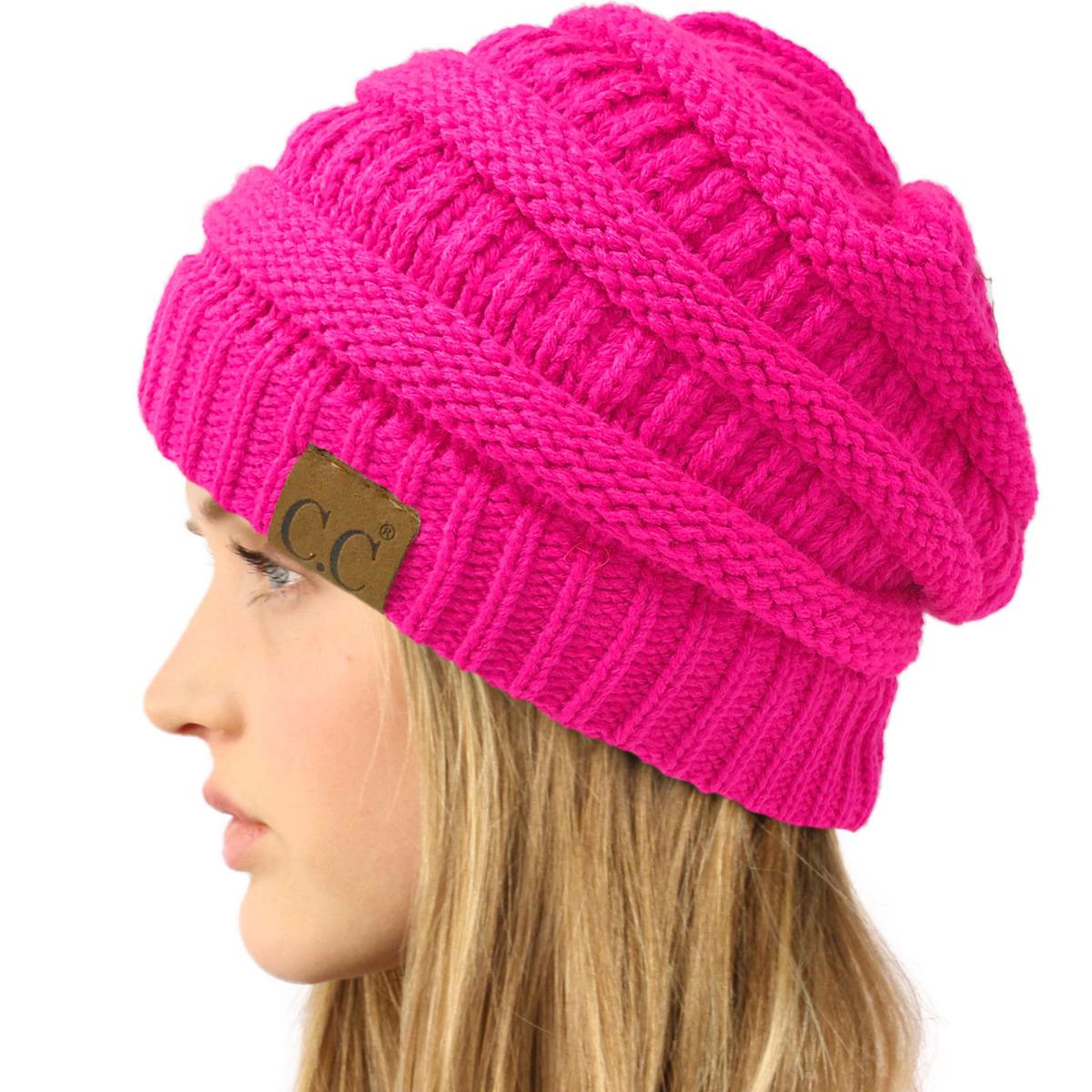 Winter Reindeer Hat Pretty In Pink Reindeer Hat Pink winter slouchy hat