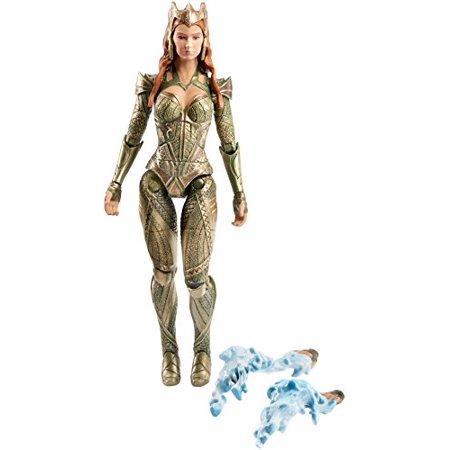 dc comics multiverse justice league mera figure, 6u0022
