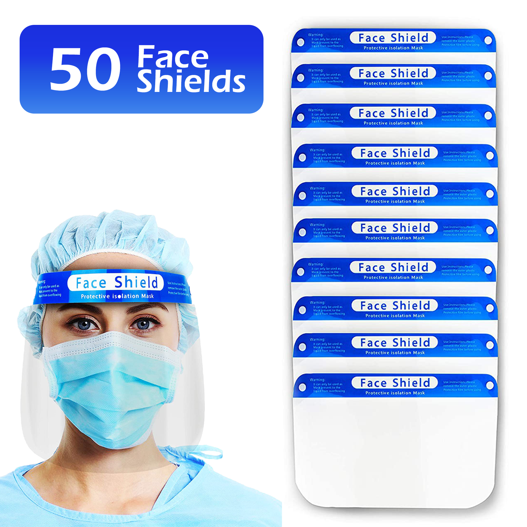 New Children/'s Kids Extra Protection Mask Face Shield w Filter Absorbs Anti Fog