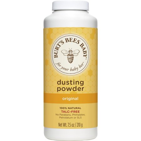 Burt's Bees Baby 100% Natural Dusting Powder, Talc-Free Baby Powder - 7.5 Ounce