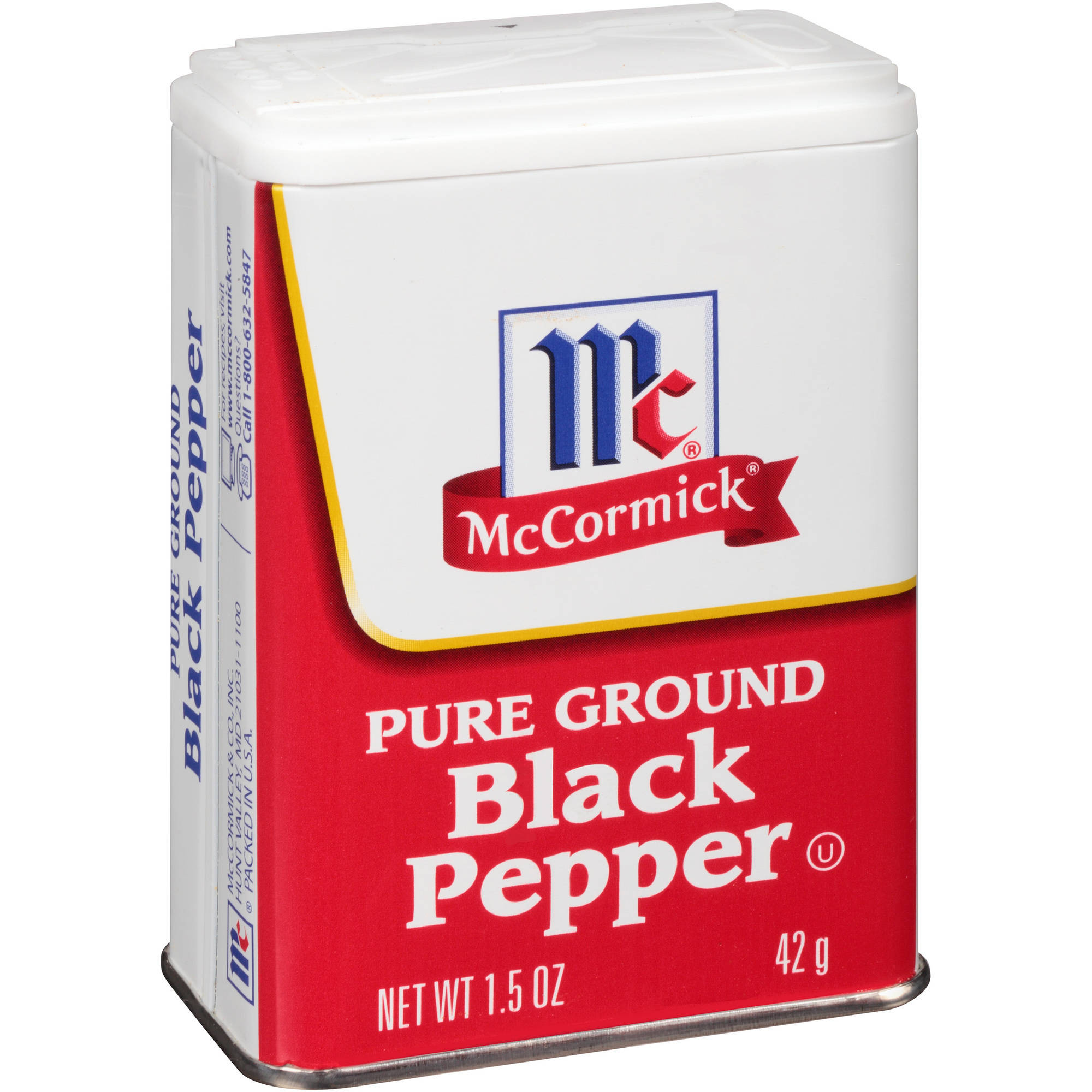 McCormick Pure Ground Black Pepper, 1.5 oz
