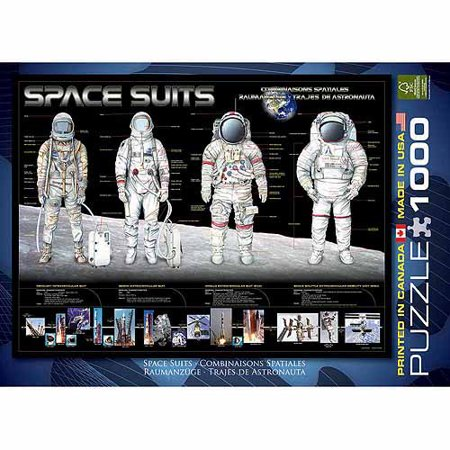 EuroGraphics Space Suits 1000-Piece Puzzle