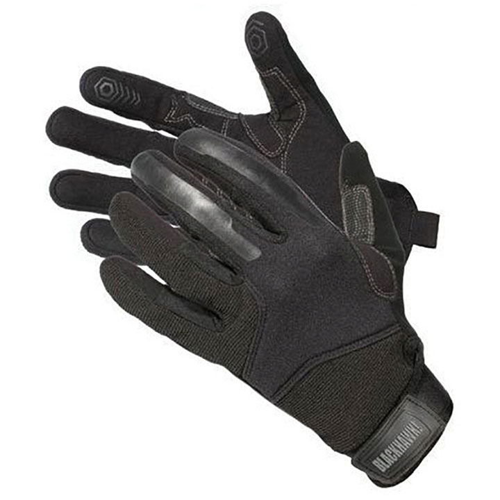 Blackhawk Hunting CRG1 Cut Resistant Patrol Gloves with Kevlar Blk Med
