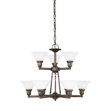 782 Sussex Single Light - Sea Gull Lighting Sussex 9 Light 31062EN3 Chandelier