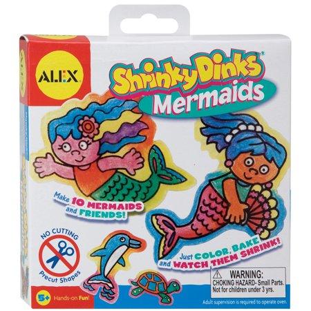 ALEX Toys - Shrinky Dinks Kit, Mermaids Jewelry