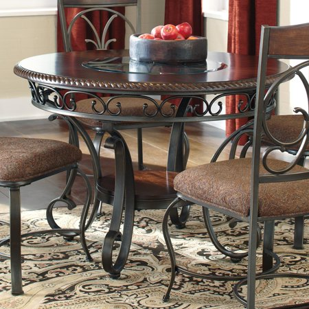 Contemporary Round Dining Room Tables (Signature Design by Ashley Glambrey Round Dining Table)