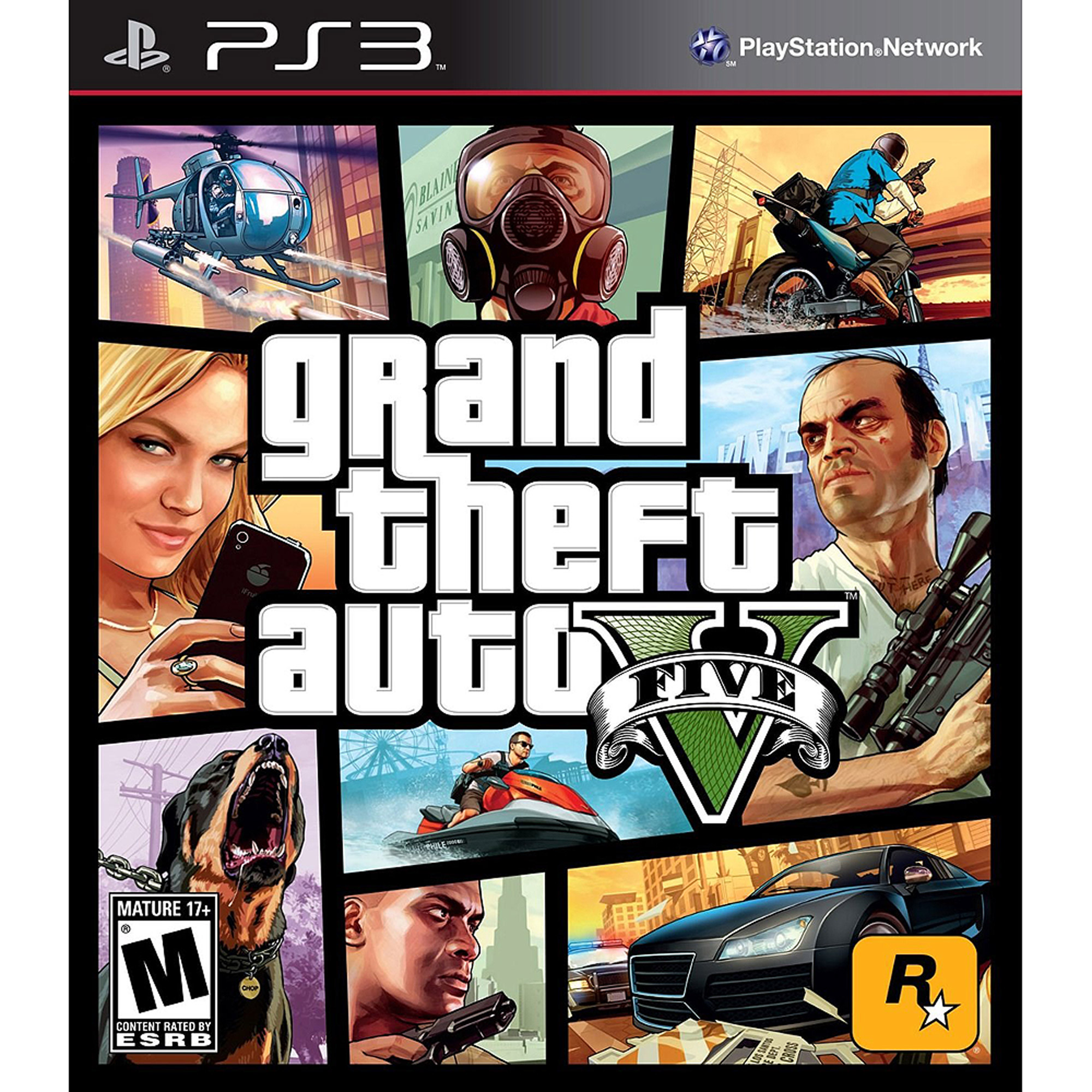 Grand Theft Auto V (PS3) - Pre-Owned