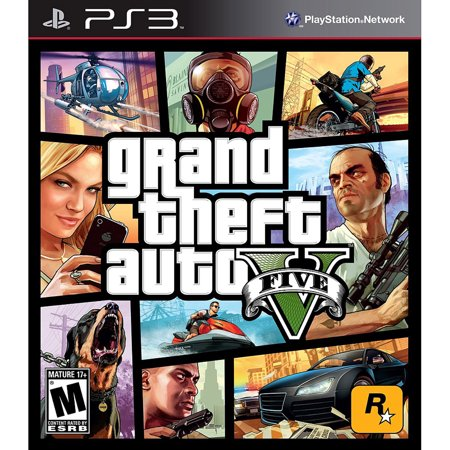 Grand Theft Auto V (Pre-Owned), Rockstar Games, PlayStation 3, 886162520163