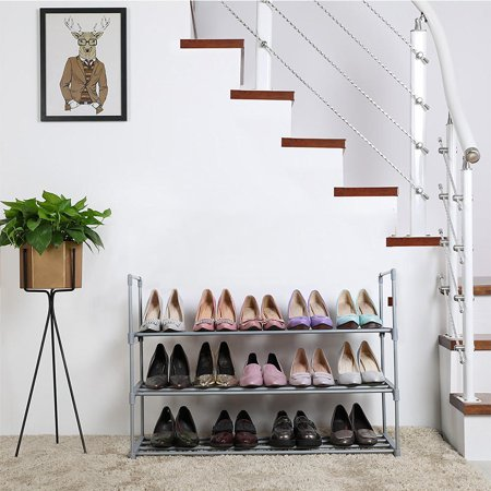 SortWise 3-Tier Shoe Rack Organizer for 18 Pairs Shoe Storage Organizer Cabinet - image 4 of 5