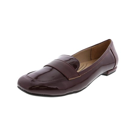 Life Stride Women's Beverly Vinyl Wine Ankle-High Leather Loafer -