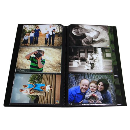 Advanced Capacity Space Saver Photo Album / Portfolio, Holds 504 of 4 x 6
