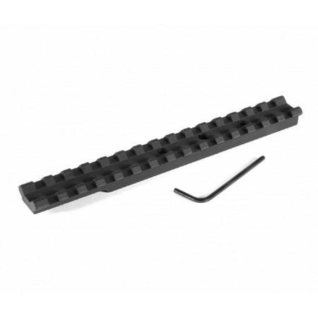 EGW Ruger 10/22 Rifle 20 MOA Tactical Scope Mount Rail, Black -