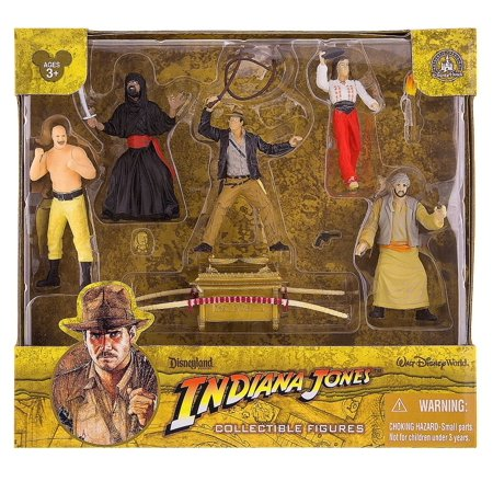 disney parks indiana jones 10 pieces figure cake topper playset new with - Disney Cars Cake Decorations