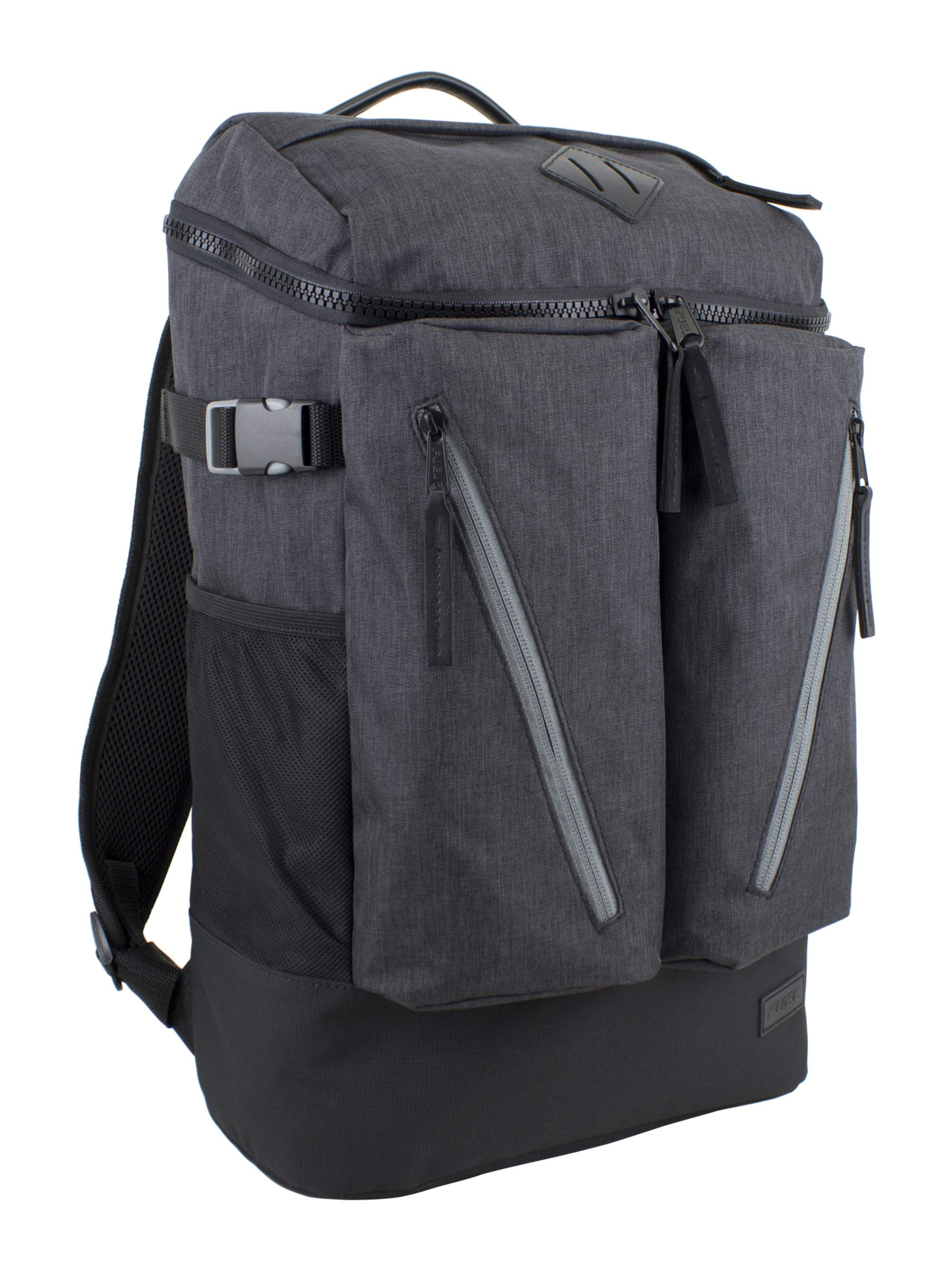 Fuel Dual Chambray Impact Backpack with Multiple Compartments by Generic