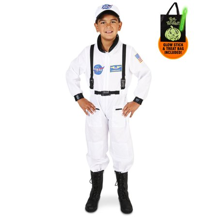 White Astronaut Child Costume Treat Safety Kit](Trick R Treat Sam Costume For Sale)