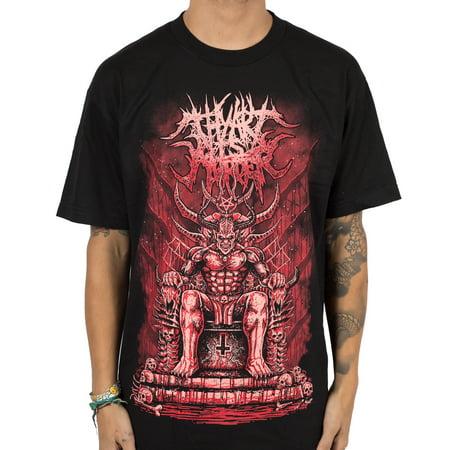 Thy Art Is Murder Men's King of Hell T-Shirt Black - Hell On Heels Halloween Shirt