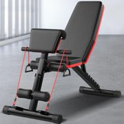 Roman Chair Adjustable Sit Up Incline Abs Benchs Flat Fly Weight Press Fitness