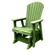 Malibu Outdoor Hyannis Single Glider, Lime