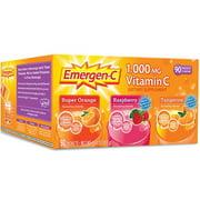 Emergen C Vitamin C Drink Packets, Variety Pack, 90 Ct